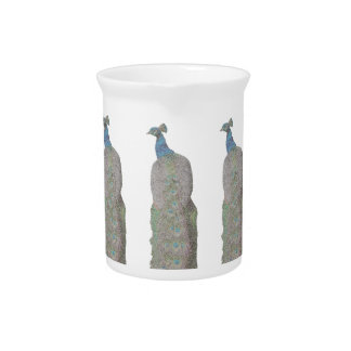 pecock vertical ( digital image ) drink pitchers