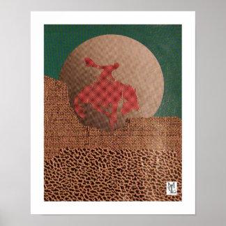 Pecos Moon Print
