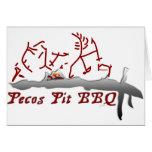 Pecos Pit BBQ Card