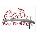 Pecos Pit BBQ Postcard