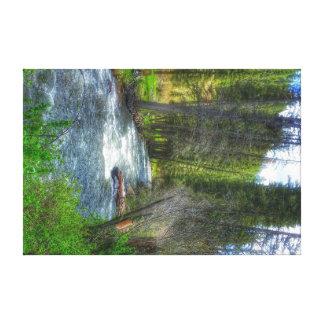 Pecos river canvas print