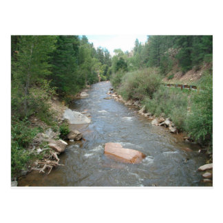 Pecos River, Santa Fe National Forest, New Mexico Postcard