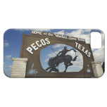 Pecos, Texas sign iPhone 5 Covers
