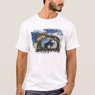 Pecos, Texas sign T-Shirt