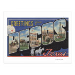 Pecos, TexasLarge Letter ScenesPecos, TX Postcard