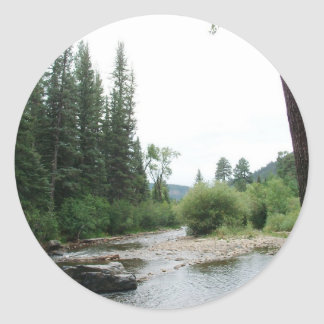 Pecos Wilderness, New Mexico Classic Round Sticker