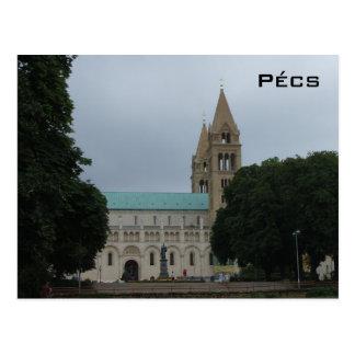 Pecs - Cathedral Postcard