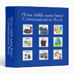 PECS Communication Book Binders