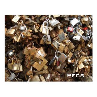 Pecs - Lovelocks Postcard