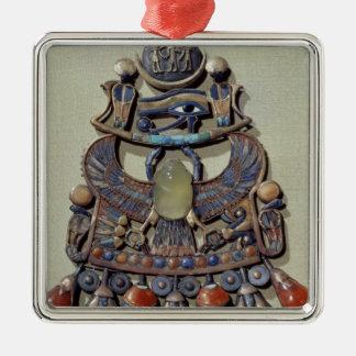Pectoral con el pájaro-escarabajo ornamento de navidad