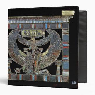 "Pectoral del nuevo reino de Ramesses II Carpeta 1 1/2"""