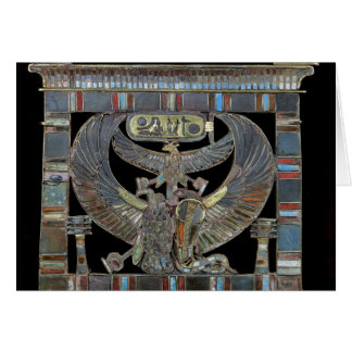 Pectoral del nuevo reino de Ramesses II Tarjetón