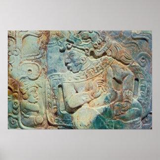 Pectoral del rey y de un cortesano de Tikal Impresiones