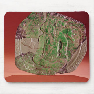 Pectoral of a king from Tikal Site, Guatemala Mouse Pad
