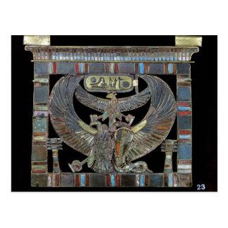 Pectoral of Ramesses II  New Kingdom Postcard