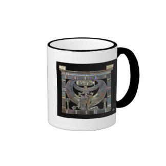 Pectoral of Ramesses II  New Kingdom Ringer Mug