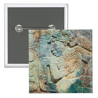 Pectoral of the King and a courtier from Tikal Button