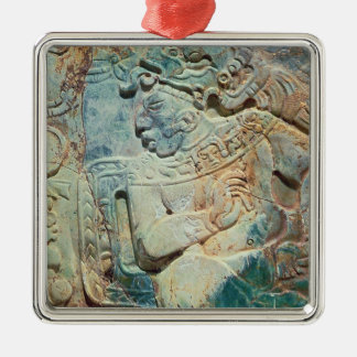 Pectoral of the King and a courtier from Tikal Metal Ornament