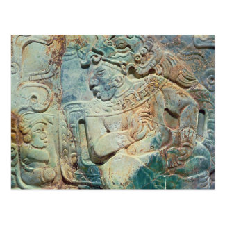 Pectoral of the King and a courtier from Tikal Postcard