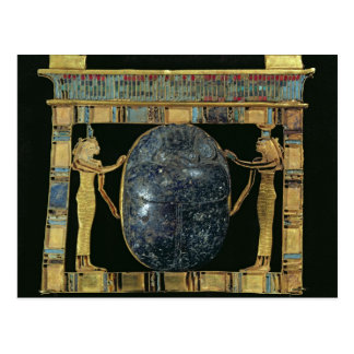 Pectoral of the vizier, Paser, with scarab Postcard