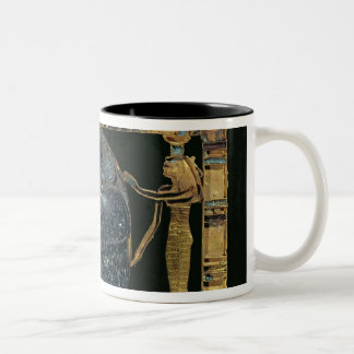 Pectoral of the vizier, Paser, with scarab Two-Tone Coffee Mug