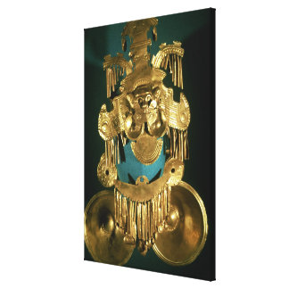 Pectoral ornament of the Calima region Canvas Print