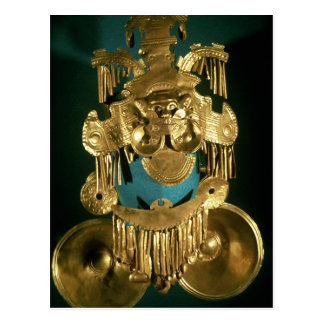 Pectoral ornament of the Calima region Postcards