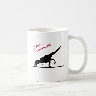 Pectorales de T-Rex Taza Clásica