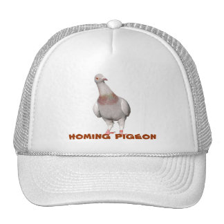 Peculiar cap with carrier pigeons trucker hat