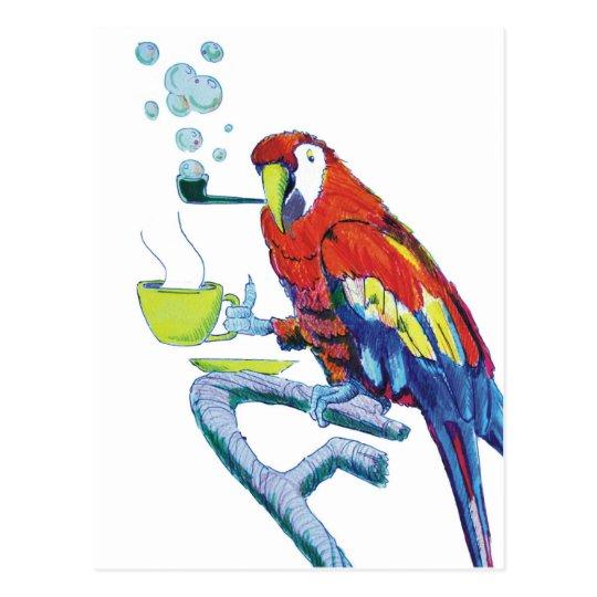 Peculiar Parrot Postcard