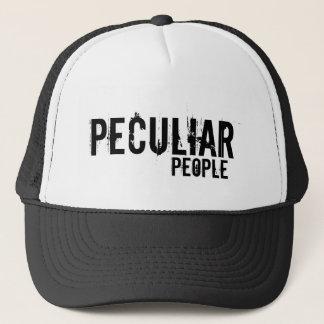 peculiar , people trucker hat