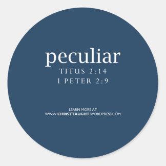 Peculiar Sticker