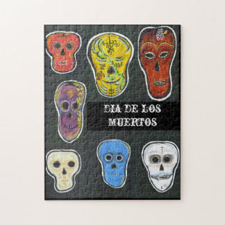 Pedagogy Greetings Puzzle:   Los Muertos Jigsaw Puzzles