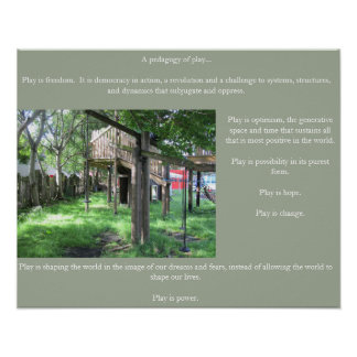 Pedagogy of Play poster # 3