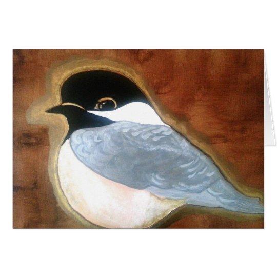 Pedagogygreetings: BC Chickadee Card