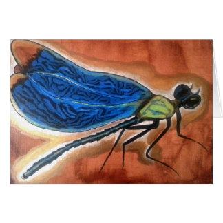 Pedagogygreetings: Odonata Tarjeta De Felicitación