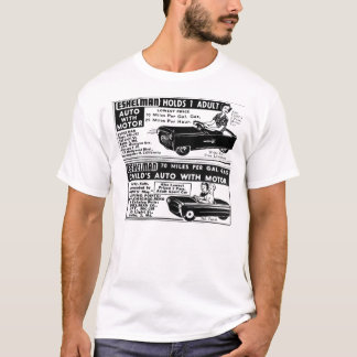 Pedal Cars for Mom and Kids! Vintage Ad T-shirt