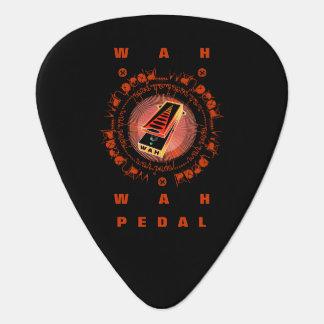 Pedal de Wah de la guitarra, amarillo anaranjado Plectro