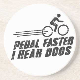 Pedal Faster Drink Coaster