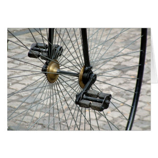 Pedal Greeting Cards