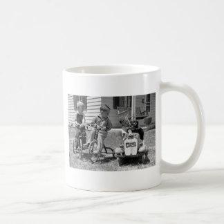 Pedal Power, 1930s Coffee Mug