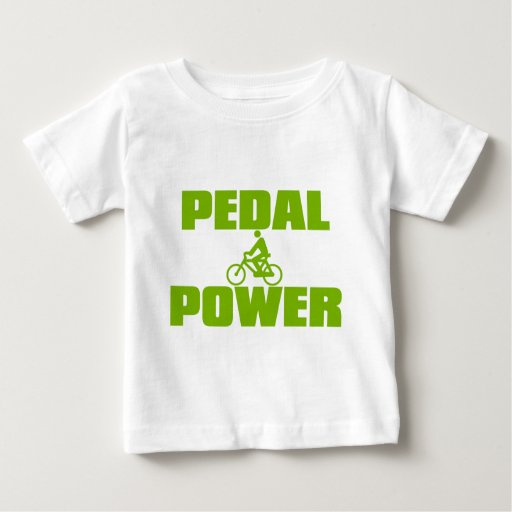 PEDAL_POWER BABY T-Shirt