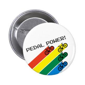 Pedal Power! Pin