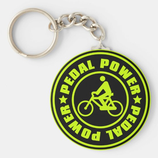 PEDAL_POWER KEYCHAIN