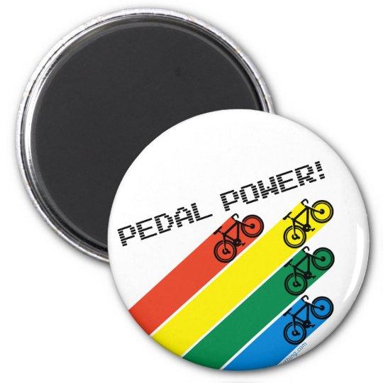 Pedal Power! Magnet