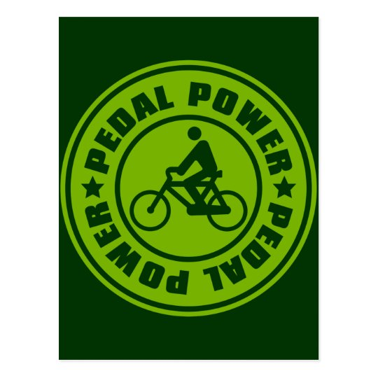 PEDAL_POWER POSTALES
