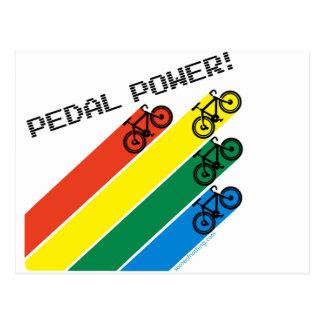 Pedal Power! Postcard