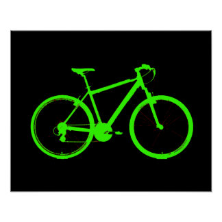 pedal ride bike bicycle cyclist poster