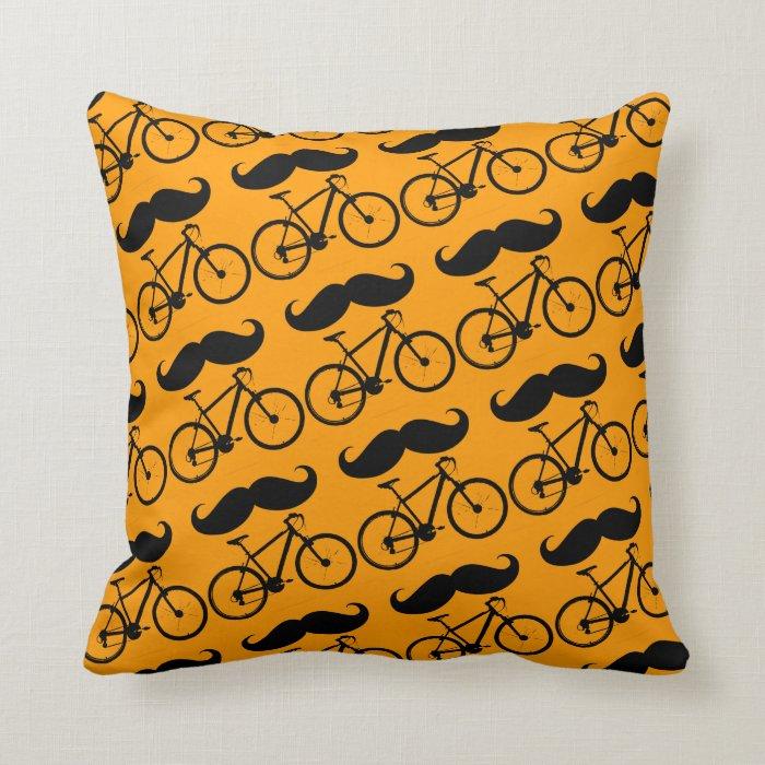 Throw Pillows With Bikes : pedal ride bike bicycle cyclist throw pillow Zazzle