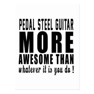 Pedal Steel Guitar more awesome than whatever it i Post Cards